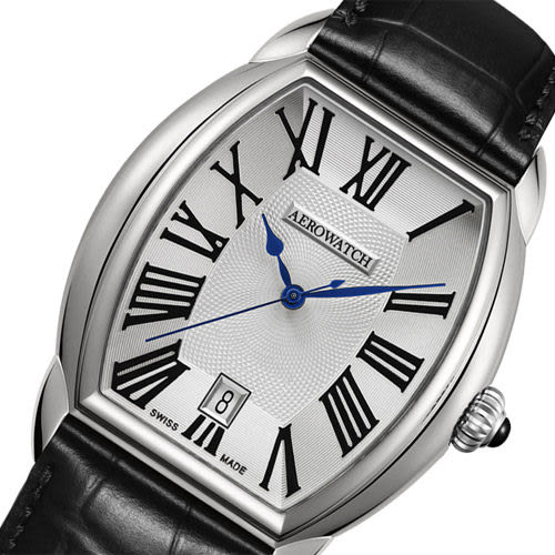 AEROWATCH Horloge 紳士扭索時尚腕錶 A42958AA05
