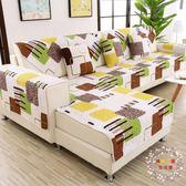 布藝防滑沙發墊四季通用簡約現代棉質沙發墊客廳實木坐墊全館免運