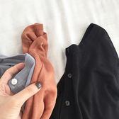 秋季新款簡約純色長袖上衣薄款顯瘦披肩針織開衫外套女學生潮 618好康又一發