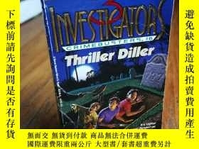 二手書博民逛書店Thriller罕見Diller (The 3 Investig