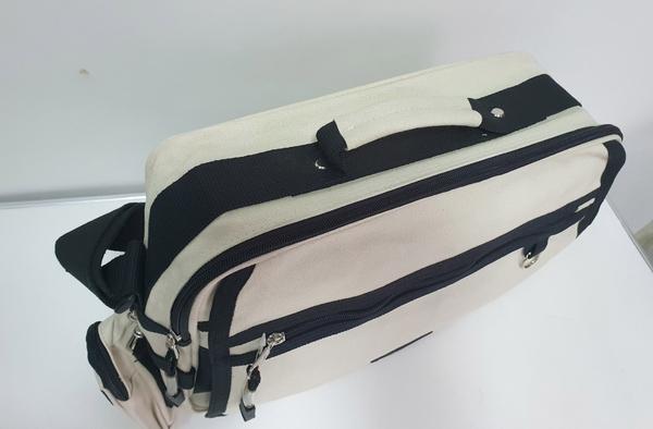 旅遊 斜背包 362 米白色(福利品)
