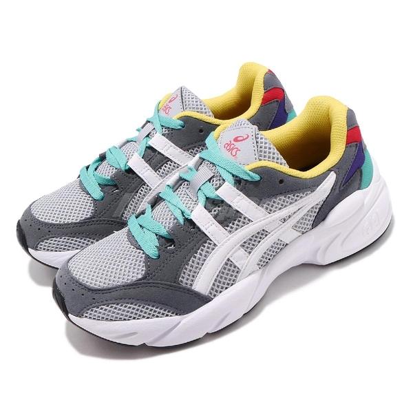 【六折特賣】Asics 復古慢跑鞋 Gel-Bnd 白 灰 綠 黃 芝麻聖代 復古款 女鞋 亞瑟士【ACS】 1022A129020