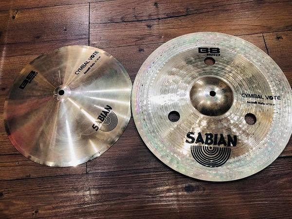 凱傑樂器 展示品 SABIAN ASSULT HATS 12 吋 銅鈸