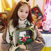 秋冬季保暖百搭日系披肩情侶男女圣誕節禮物圍巾 LQ769『夢幻家居』