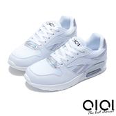 休閒鞋 清新樂活綁帶輕量休閒鞋(白) *0101shoes  【18-2815w】【現貨】