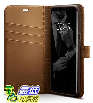 [106 美國直購] Spigen 571CS21688 棕色 [Wallet S] Samsung Galaxy S8 Plus Case 皮夾式 手機皮套 保護套