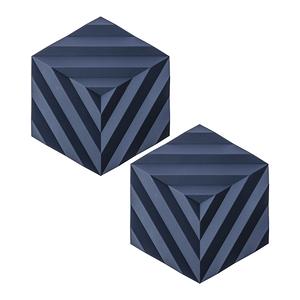 (組)2入丹麥ZONE FOLD系列幾何矽膠鍋墊-紫羅藍