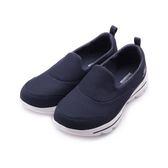 SKECHERS GO WALK EVOLUTION ULTRA套式休閒鞋 深藍白 15730WNVW 女鞋