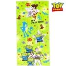 【SAS】日本限定 迪士尼 玩具總動員 胡迪 叉奇 三眼怪 巴斯光年 毛巾 / 浴巾 60×120cm