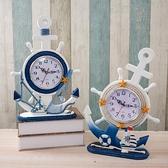鐘表擺件客廳臥室床頭家用創意擺臺座鐘兒童學生歐式桌面臺式時鐘 聖誕節全館免運