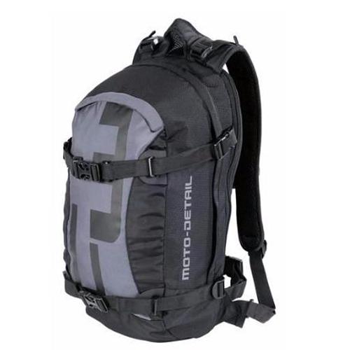 【東門城】MOTO-DETAIL CASUAL BACKPACK 多功能後背包(黑)