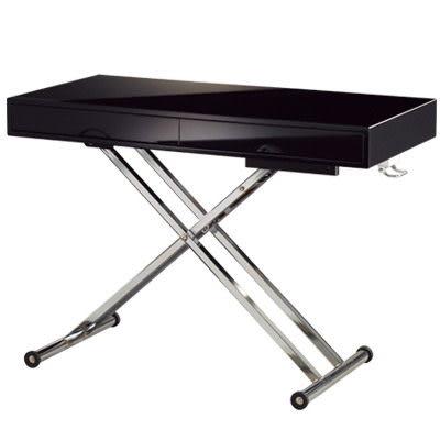 【藝匠】大都會 升降桌/大茶几/調整式升降桌 雙抽屜茶几 家具  調整桌 收藏 鏡面