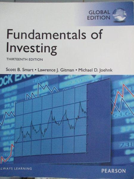 【書寶二手書T1/大學商學_YAS】Fundamentals of Investing_Lawrence