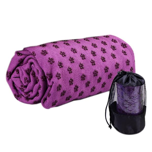 〈限今日-超取288免運〉瑜珈墊鋪巾 超細纖維 止滑鋪巾 瑜珈墊 戶外 瑜珈用品【TPS013】