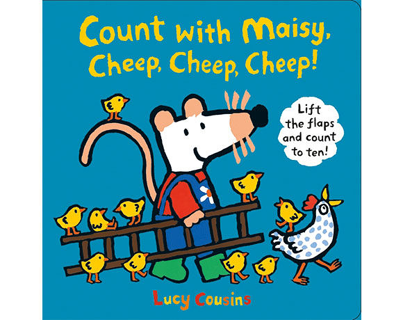 Count With Maisy, Cheep, Cheep, Cheep! 和波波一起學算數