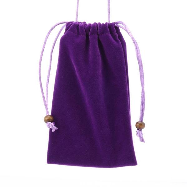 帶吊繩 4.7吋 5.5吋 6.3吋 8吋 10吋 棉絨 束口袋 可掛脖 收納袋 手機袋 保護袋 手機包 超大容量