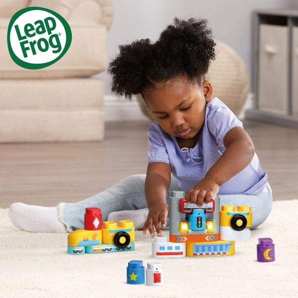 Leap Frog 小小建築師-鐵道快車公路組