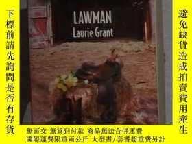 二手書博民逛書店英文原版罕見Lawman by Laurie Grant 著Y1