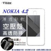 【愛瘋潮】諾基亞 Nokia 4.2 高透空壓殼 防摔殼 氣墊殼 軟殼 手機殼
