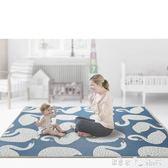 寶寶爬行墊加厚xpe環保兒童泡沫地墊客廳家用嬰兒爬爬墊 潔思米 IGO