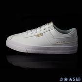 PONY 女休閒運動鞋 厚鞋墊設計彈性佳 舒適好穿 簡約設計 百搭 學生鞋 白色鞋面  【8012】