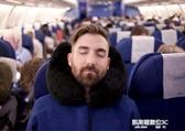 U型脖靠枕充氣吹氣旅行枕脖子護頸枕頸椎午休枕頭長途飛機便攜H型枕 【快速出貨】