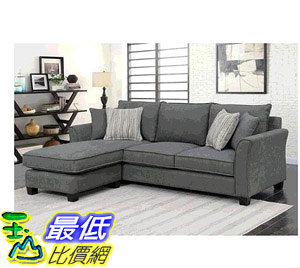 [COSCO代購] W117553 Bainbridge L型布沙發 Bainbridge Fabric Sectional