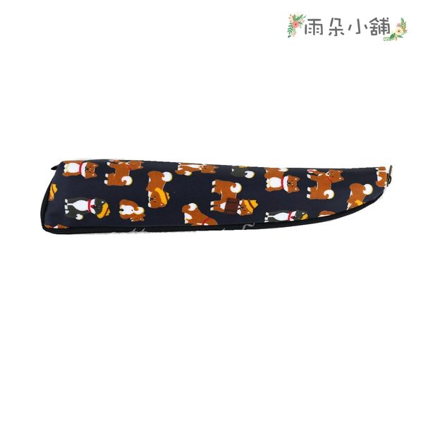筷套 包包 防水包 雨朵小舖 M138-309 大大水滴筷套-深藍公事包柴犬13184 funbaobao