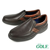 【GOLF】手工氣墊休閒皮鞋 咖啡(GF2216-DBR)