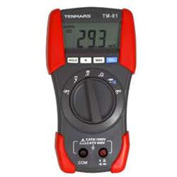 TENMARS泰瑪斯 經濟款3 1/2三用電錶 TM-81