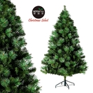 摩達客耶誕-6呎/6尺(180cm)PVC+ 松針深淺綠擬真混合葉聖誕樹 裸樹(不含飾品不含燈)本島免運費