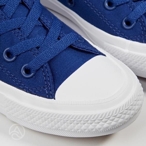Converse Chuck Taylor All Star II 男女 藍色 低筒 二代 休閒鞋 150152C 瑕疵品