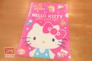 Hello Kitty 凱蒂貓 A4 亮銀L夾 資料夾 45週年 桃 957298