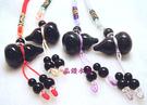 彩虹黑曜石雕刻~葫蘆吊飾~3A級~顆顆帶...