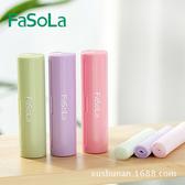 日本Fasola便攜式潤膚肥皂片香皂紙 一次性洗手香皂 【庫奇小舖】