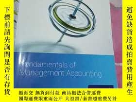 二手書博民逛書店Fundamentals罕見of Management AccountingY308086 CIMA CIMA