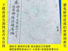 二手書博民逛書店佛曆2951年罕見北京佛經流通處 編 《佛學書目表》平裝一厚冊全