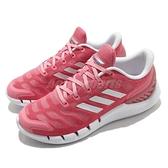 adidas 慢跑鞋 Climacool Ventania W 粉紅 白 愛迪達 透氣 女鞋【ACS】 FZ1747