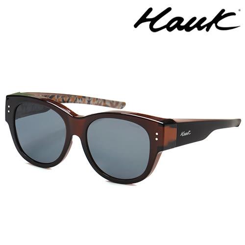 HAWK偏光太陽套鏡(眼鏡族專用)HK1016-11A
