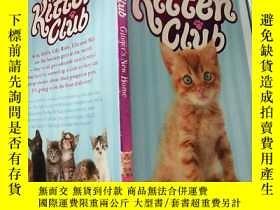 二手書博民逛書店kitten罕見club 小貓俱樂 部..Y200392