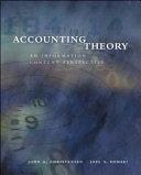 二手書博民逛書店 《Accounting Theory: An Information Content Perspective》 R2Y ISBN:007112327X│McGraw-Hill