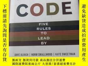 二手書博民逛書店Leadership罕見Code:Five Rules to Lead by: The Five Things G