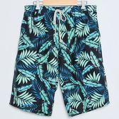男士沙灘褲加大碼情侶沙灘褲男士泳褲平角褲泡溫泉【販衣小築】