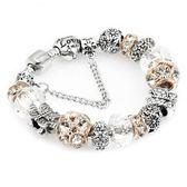 飾品 手鏈串珠 鑲鉆蝴蝶手鏈 s09
