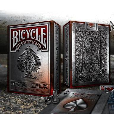 【USPCC 撲克】Bicycle metal playing cards