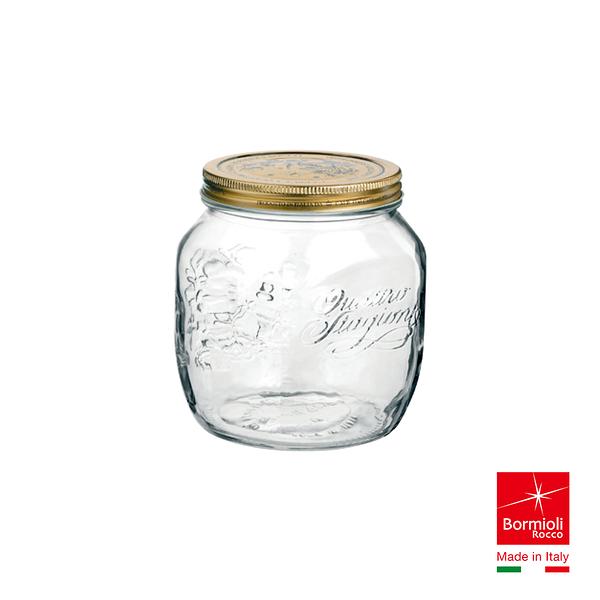 義大利Bormioli Rocco 四季果醬圓罐(700cc) 密封罐 飲料罐 儲物罐 重複使用 保鮮 好生活