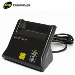Digifusion 伽利略 直立式ATM晶片讀卡機 黑(RU035)