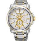 SEIKO精工Premier人動電能萬年曆腕錶 7D56-0AG0K SNP166J1