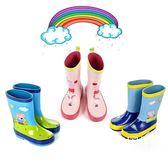 兒童雨鞋 小豬佩奇粉紅豬防滑水鞋膠鞋【大小姐韓風館】