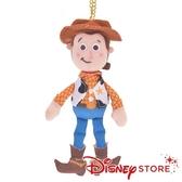 日本限定 迪士尼商店 Disney Store 玩具總動員4 胡迪 別針珠鍊吊飾娃娃